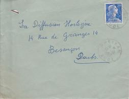LETTRE DE PREIXAN AUDE 1957 - 1921-1960: Moderne