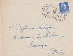 LETTRE DE MORTAGNE SUR SEVRE VENDEE 1957 - 1921-1960: Moderne