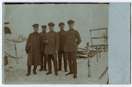 Foto AK 1.WK Führer Radfahrer-Kompanie 201 März 1917  #202 - Guerra 1914-18
