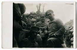 Foto AK 1.WK Soldaten Besatzung Maschinengewehr  #203 - Guerra 1914-18