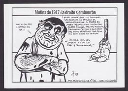 CPM [88] Vosges > Epinal Tirage 100 Exemplaires Numérotés Signés Par JIHEL Philippe Seguin Mutins De 1917 - Epinal