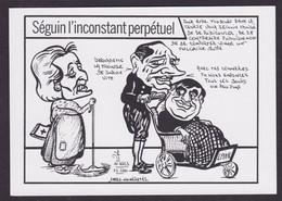 CPM [88] Vosges > Epinal Tirage 100 Exemplaires Numérotés Signés Par JIHEL Philippe Seguin Chirac - Epinal