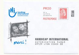"""PAP   """" Handicap International """"  Marianne L'engagée 20g - Prêts-à-poster:reply"""