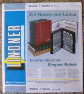 Lindner - Feuilles NEUTRES LINDNER-T REF. 802 501 P (5 Bandes) (paquet De 10) - A Nastro