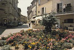 84. LOURMARIN.  PLACE DE L'ORMO. ANNEE 1980 + TEXTE - Lourmarin
