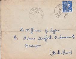 LETTRE DE SAINT HIPPOLYTE DU FORT GARD 1958 - 1921-1960: Moderne