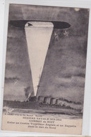 Guerre Navale 1914-1915 Combat De Nuit Entre Un Contre-Torpilleur Anglais Et Un Zeppelin Dans La Mer Du Nord Dirigeable - Luchtschepen