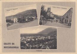 Campania - Caserta - Roccaraionola - Saluti Da Roccarainola - 3 Vedute - F. Grande - Viagg - Molto Bella - Anteguerra - Other Cities