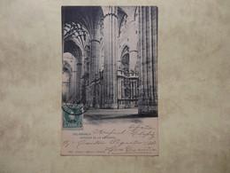 Salamanca - Interio De La Catedral 1906  (2329) - Salamanca