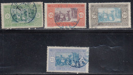Senegal, Scott #82, 87, 90?, 91, Used, Preparing Food, Issued 1914 - Oblitérés