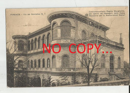 FIRENZE  VIA DEL SALVIATINO -CONVALESCENZIARIO REGINA MARGHERITA-FP.-VG.1927 - Firenze