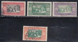 Senegal, Scott #92, 96, 98, 105, Used, Preparing Food, Issued 1914 - Oblitérés