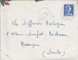 LETTRE DE LA LEVADE GARD 1957 - 1921-1960: Moderne