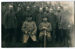 Foto AK 1.WK Landsturm Landsturm-Ersatz-Bataillon X.24 Walsrode Feldpost Stempel Kriegsgefangenen-Bewachungstruppe #213 - Guerra 1914-18