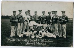 Foto AK 1.WK Husaren Beim Abkochen In Altengrabow #214 - Guerra 1914-18