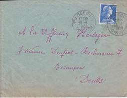 LETTRE DE PUISSEGUIN GIRONDE 1958 - 1921-1960: Moderne