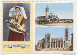 Prix Fixe -  LIMOGES - Joueuse De Vielle En Barbichet - La Gare # 67 - Limoges