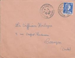 LETTRE DE MOLLANS SUR OUVEZE DROME 1958 - 1921-1960: Moderne