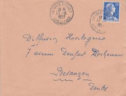 LETTRE DE LA FERTE IMBAULT LOIR ET CHER 1957 - 1921-1960: Moderne
