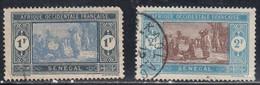 Senegal, Scott #114, 120, Used, Preparing Food, Issued 1914 - Oblitérés