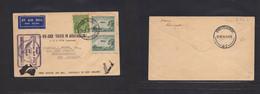 Airmails - World. 1934 (9 Apr) Australia - New Zealand. Fist Flight. Multifkd Env. - Unclassified