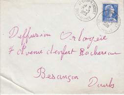LETTRE DE SAINT LOUP SUR THOUET DEUX SEVRES 1958 - 1921-1960: Moderne