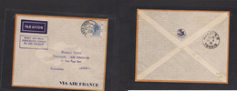 Airmails - World. 1939 (10 March) Hong Kong - Indochina. First Flight Fkd Envelope. - Unclassified