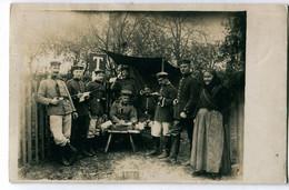 Foto AK 1.WK Telegraphen Seltene Schulterklappe Versuchsabteilung #219 - Guerra 1914-18