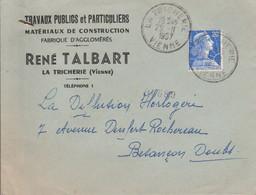 LETTRE DE LA TRICHERIE VIENNE 1957 - 1921-1960: Moderne