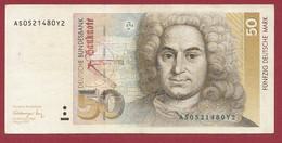 Allemagne 50 Mark 1991 Dans L 'état (P.428) - 50 Deutsche Mark