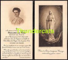 PAULINE DE MAN VARSSENAERE VARSENARE 1879 1917 - Obituary Notices
