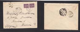 INDOCHINA. 1932 (24 May) Phu Lang Thuong - Spain, Madrid (28 June). Fkd Env. Rare Destination. - Autres - Asie