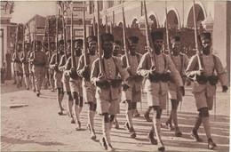 CPA - édit. GEORGES LANG - TROUPES COLONIALES,(CITAYES DE L'INDE) - Manœuvres Du Galibier - Août 1938 - Regiments