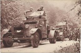 CPA - édit. GEORGES LANG - AUTOS MITRALLEUSES DE CAVALERIE - Manœuvres Du Galibier - Août 1938 - Regiments