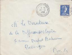 LETTRE DE PIERREFITTE SUR SAULDRE LOIR ET CHER 1958 - 1921-1960: Moderne