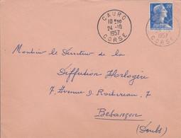 LETTRE DE CAURO CORSE 1958 - 1921-1960: Moderne