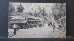 CPA - Greeting From Ceylon-Colombo - Street Scene - Grand Pass - Sri Lanka (Ceylon)