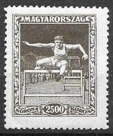 Hungary Mint Hinged *1925 Sports 20 Euros - Neufs