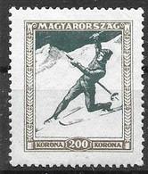 Hungary Mint Hinged *1925 Sports 4 Euros - Neufs