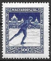 Hungary Mint Hinged *1925 Sports 10 Euros - Neufs