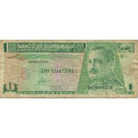 Billet, Guatemala, 1 Quetzal, 1993, 1993-10-27, KM:87a, TB - Guatemala
