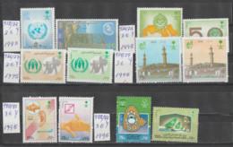 ARABIA-SAUDITA   1995  **   MNH   YVERT   972\83  SERIES-6- COMPRETAS - Saudi Arabia