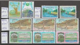 ARABIA-SAUDITA   1996  **   MNH   YVERT   984\85+996\97+989\91+1000\02-  SERIES-4- COMPRETAS - Saudi Arabia