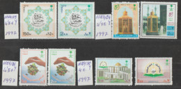 ARABIA-SAUDITA   1997  **   MNH   YVERT    1014\15+1023\24+1025\26+1029\30-  SERIES-4- COMPRETAS - Saudi Arabia