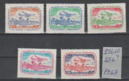 ARABIA-SAUDITA   1963  **   MNH   YVERT    206\10-VALOR-25  €  AVIONES - Saudi Arabia