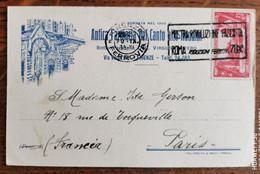Cpa ITALIE FIRENZE Antica Farmacia Signature Du Dottor ARTERO - Firenze