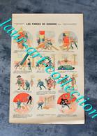 RARE ESTAMPE IMAGERIE PARISIENNE - SERIE E - N°6 : LES FARCES DE GUGUSSE (SUITE) - 40x27cm        (3108) - Stampe & Incisioni