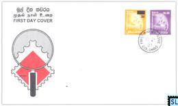 Sri Lanka Stamps 2003, Definitive, Surcharge, Drummer, FDC - Sri Lanka (Ceylon) (1948-...)