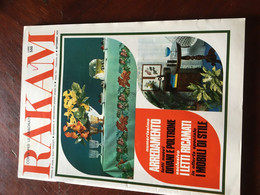Rakam Rivista Magazine Settembre 1970 Mensile Di Moda E Lavori Femminili - Unclassified
