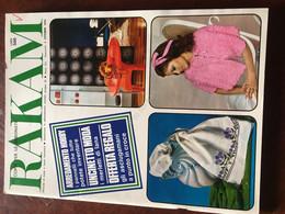 Rakam Rivista Magazine Ottobre 1970 Mensile Di Moda E Lavori Femminili - Unclassified